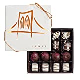 Fames Assort Handcrafted Chocolates Gift Box, Kosher Pareve, 16pc Deal