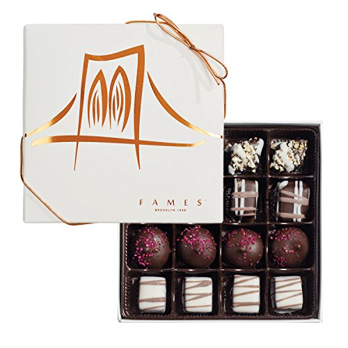Fames Assort Handcrafted Chocolates Gift Box, Kosher Pareve, 16pc Deal (Large Image)