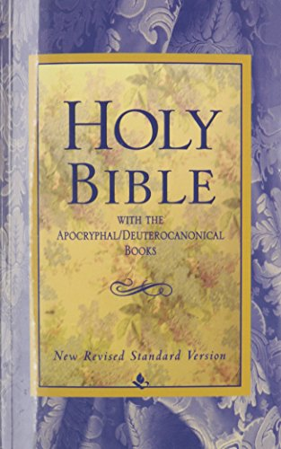 Holy Bible, With The Apocryphal/Deuterocanonical Books,...