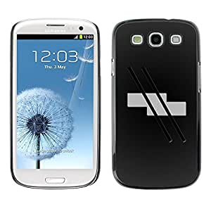 LECELL -- Funda protectora / Cubierta / Piel For Samsung Galaxy S3 I9300 -- Abstract Stripes --