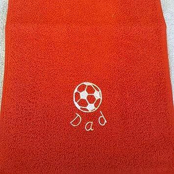 Personalizable felpa fútbol deportes toalla con bordado de un ...
