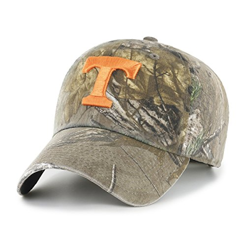 NCAA Tennessee Volunteers Realtree OTS Challenger Adjustable Hat, Realtree Camo, One (Tennessee Volunteers Camo)
