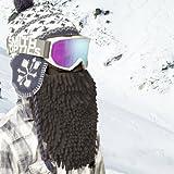Beardski JB-50001 Men's Rasta Mask, Black