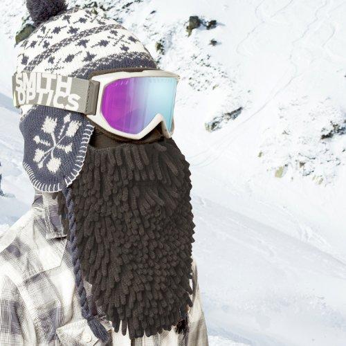 Beardski Men's Black Rasta Mask - Ski Rasta