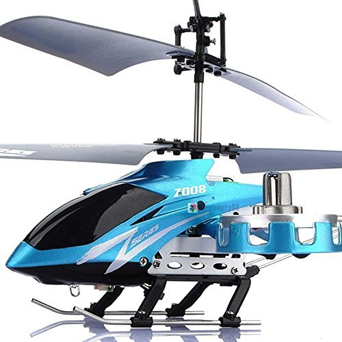 [New AVATAR Z008 4CH 2.4G Metal RC Remote Control Helicopter LED Light GYRO RTF UP] (Avatar Makeup)