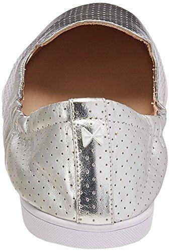 Bailarinas Jade Para Twists silver Butterfly Plata Mujer Uw1fZxU0q
