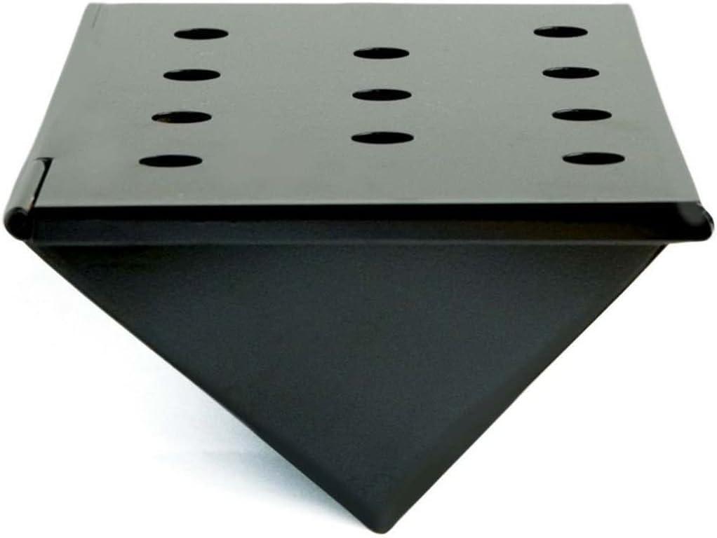 Charcoal Companion Small Nonstick V-Shaped Smoker Box: Garden & Outdoor