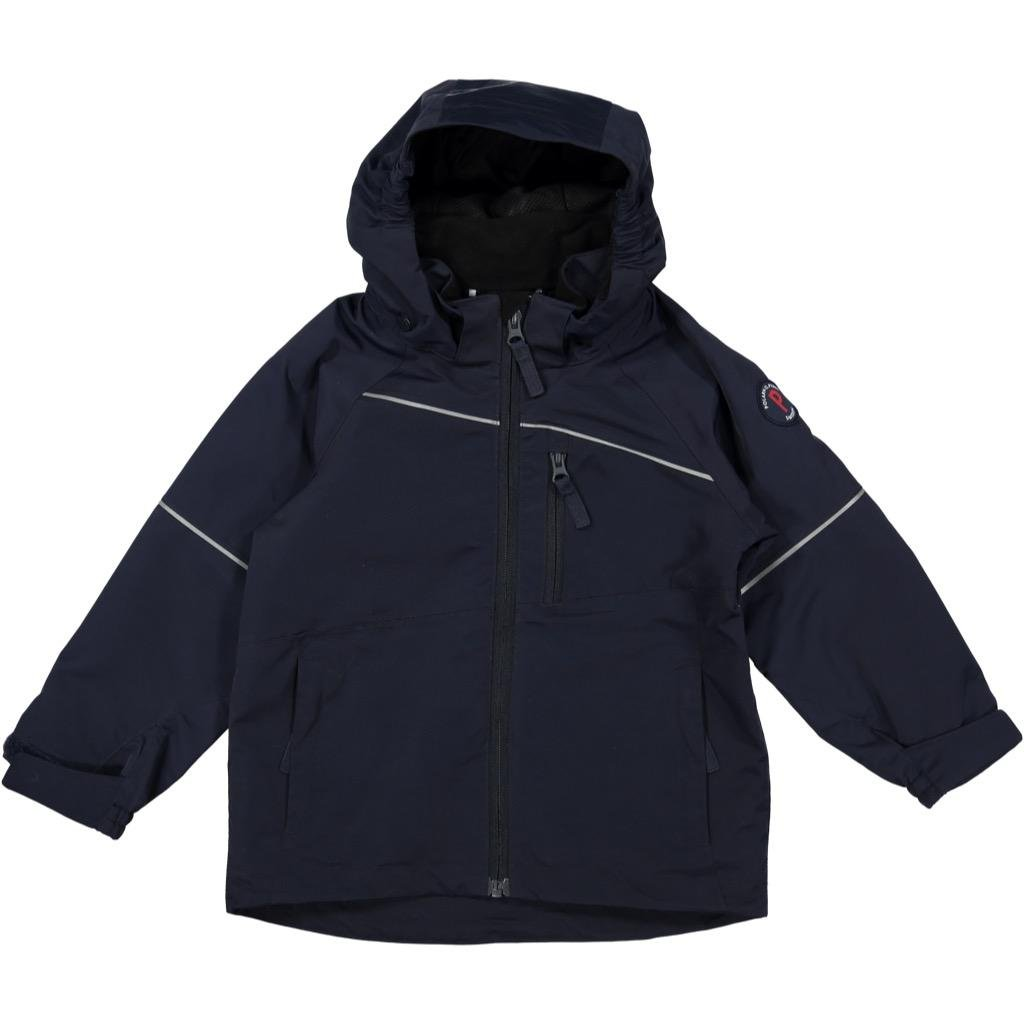 POLARN O. PYRET SHELL JACKET (2-6YRS) - Dark Sapphire/2-3 years by Polarn O. Pyret