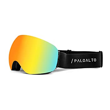 Paloalto Sunglasses P4501.1 - Lunette de Ski - Mixte Adulte - D'Or