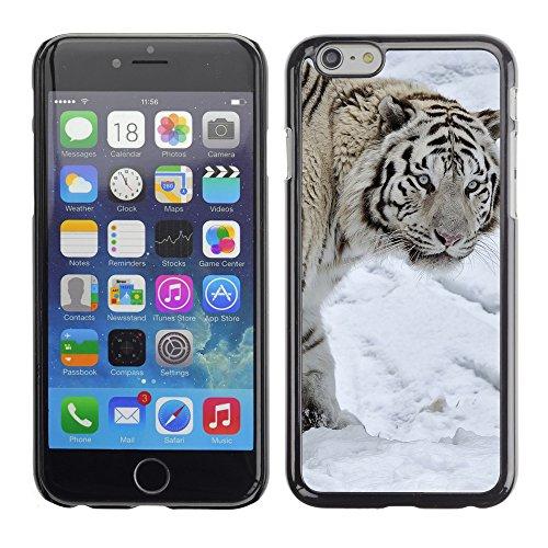 """Premio Sottile Slim Cassa Custodia Case Cover Shell // V00004010 tigre blanc sur la neige // Apple iPhone 6 6S 6G 4.7"""""""