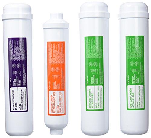 ATH conjunto 4 filtros osmosis Ge