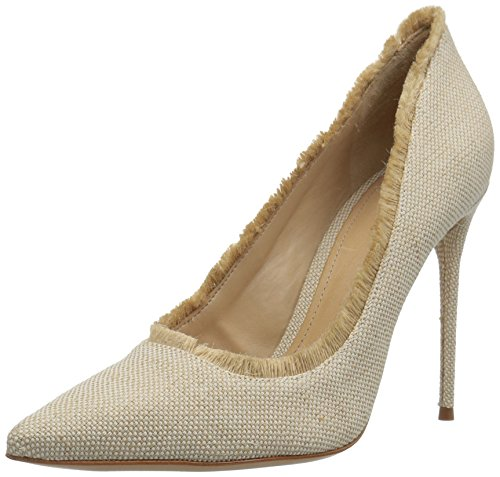 Schutz Women's Zeyna Pump, Natural, 6.5 M US by SCHUTZ