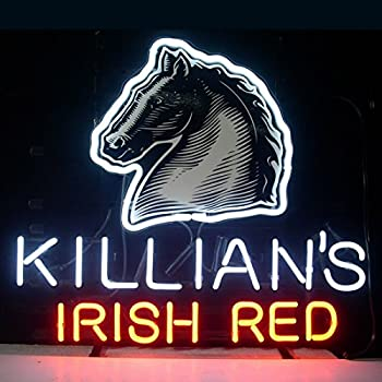 """HOT Eagle 24""""x 20"""" Killian's Irish Red Lager Real Glass Beer Bar Neon Light Signs for Home Shop Store Beer Bar Pub Restaurant Billiards Shops Display Signboards"""