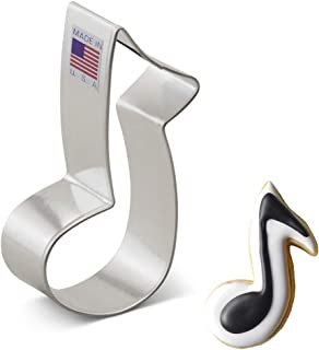 product image for Ann Clark Cookie Cutters Music Note Cookie Cutter, 3.5""