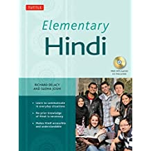 Elementary Hindi: Learn to Communicate in Everyday Situations (MP3 Audio CD Included)