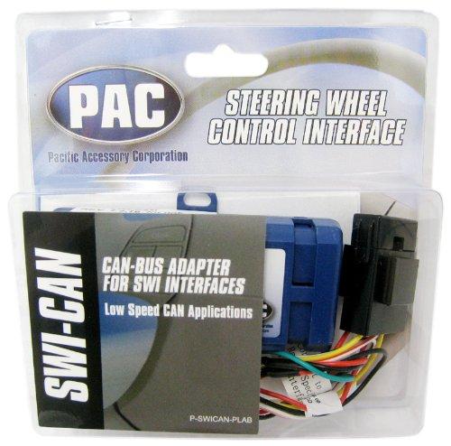Interface Wheel Control Steering Radio (Pac SWI-CAN Steering Wheel Radio Control Database Interface {Add-on Module for SWI-X, SWI-PS, SWI-JACK and SWI-ECL2})