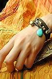 Generic new_national_wind_wild_ bracelet bangle _women's_multi-ring_ bracelet bangle s,_loose_stone_braided_lover_ bracelet bangle women girls _retro