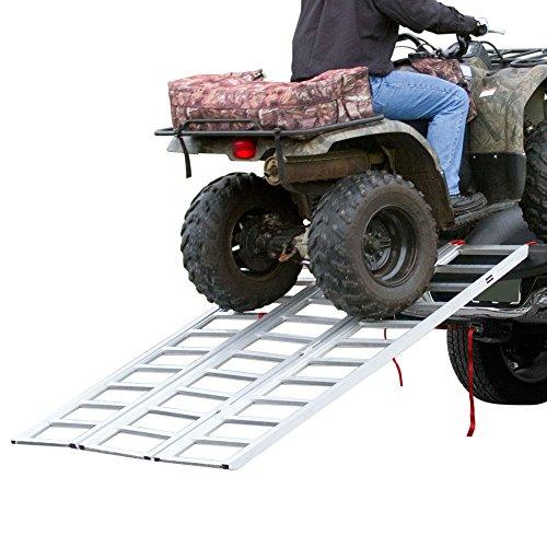 Rage-Powersports-TF-7754-Full-Width-Tri-Fold-Aluminum-ATV-Loading-Ramp-77-x-54