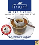 Finum 100-Cup Size Filters and Stick