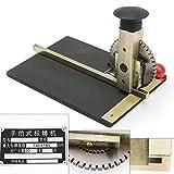 Manual Stamping Embossing Machine, Metal Deboss Plate Dog Tag Alphanumeric Character Printer Embosser, Hand-type Signage Machine Label Marking Machine & Specialty Printing