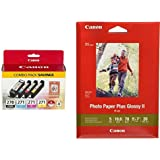 Canon PGI-270/CLI-271 w/ Paper Combo Pack,