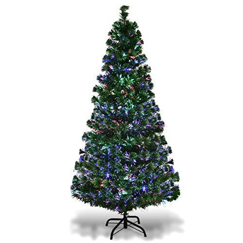 7 5 Artificial Christmas Tree With Led Lights in US - 8