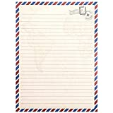 Vintage Stationery Paper Set and Envelopes in
