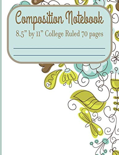 Composition Notebook 8.5
