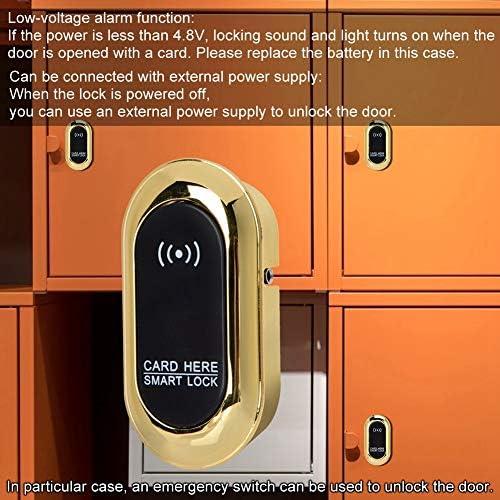 Cerradura de sensor de gabinete para el club de sal/ón de gimnasio en casa Cerradura de inducci/ón electr/ónica Cerradura antirrobo inteligente