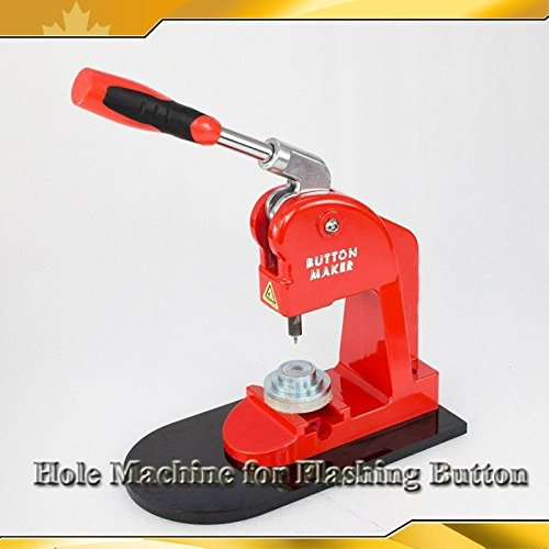 For Flashing Button Making Makerr1.8mm(0.07'') Hole Punch Machine Grommet Press(item#015304) by Button Maker