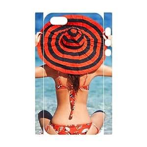 ALICASE Diy Customized Case Bikini 3D Case for iPhone 5,5S [Pattern-1]