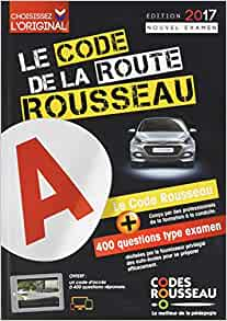 code rousseau de la route b 2017 french driver 39 s test booklet french edition code rousseau. Black Bedroom Furniture Sets. Home Design Ideas
