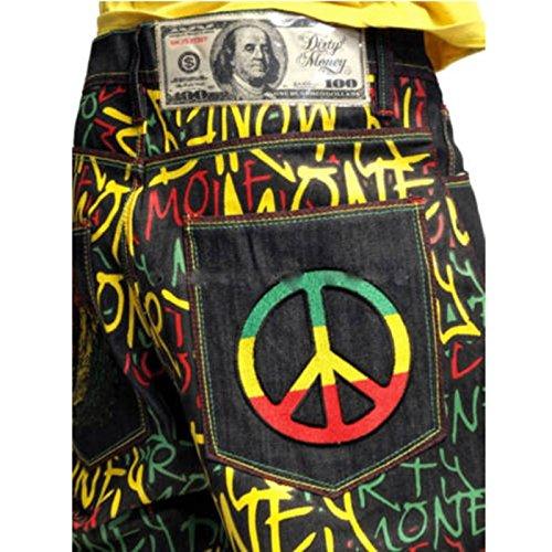 Jeans Money Jeans Black Dirty Money Uomo Uomo Dirty SFaRzxg