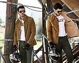 Vcansion Men's Winter Fleece Windproof Jacket Wool...