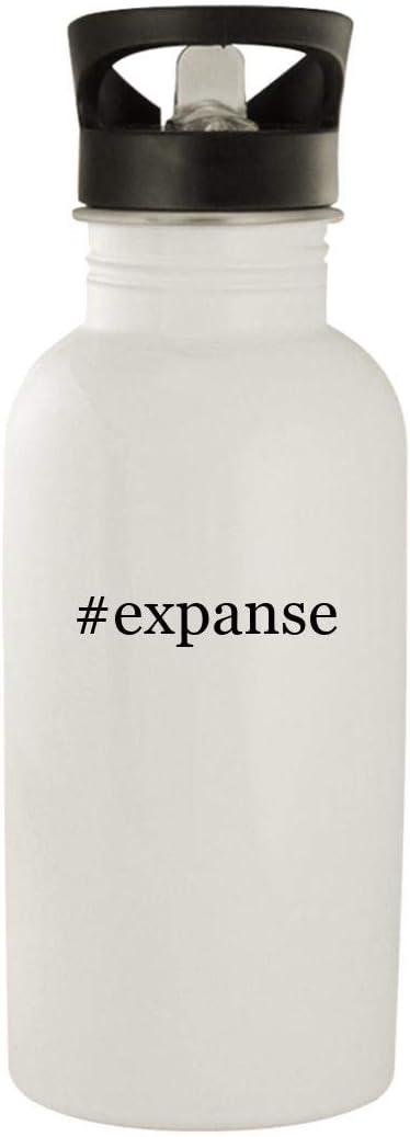 #expanse - Stainless Steel Hashtag 20oz Water Bottle, White 51zNYtGoXsL