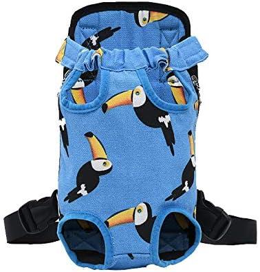 Jitong Mochila Prepositiva para Perros Gatos Mascotas Portátil Mochilas portaperros Bolsa Transport de Viaje (Cielo Azul, XL)