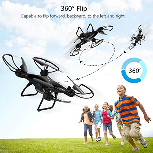 allcaca-S28W-RC-Drone-24Ghz-6-Axis-Gyro-4Ch-Remote-Control-Quadcopter-with-Altitude-Hold-3D-Flips-Headless-Mode-One-Key-Return-for-Kids-Beginners-Without-Camera
