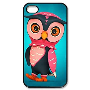 Custombox Owl Iphone 4/4s Case Plastic Hard Phone Case for Iphone 4/4s-iPhone 4-DF02479