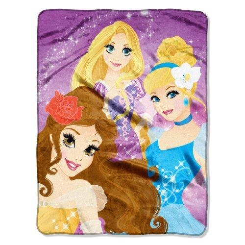Disney Princess Silk Touch Throw - 46
