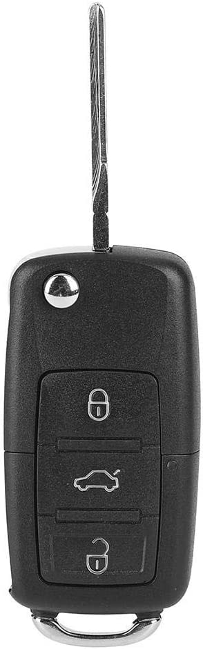Suuonee Car Remote Key 3 Button Car Remote Control Key Fob 434Mhz OE:1J0959753AH Fit for Beetle 2002-2011