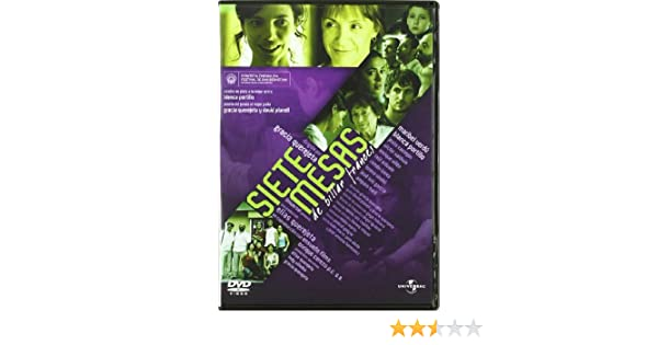 Siete mesas (De billar francés) [DVD]: Amazon.es: Maribel Verdu ...