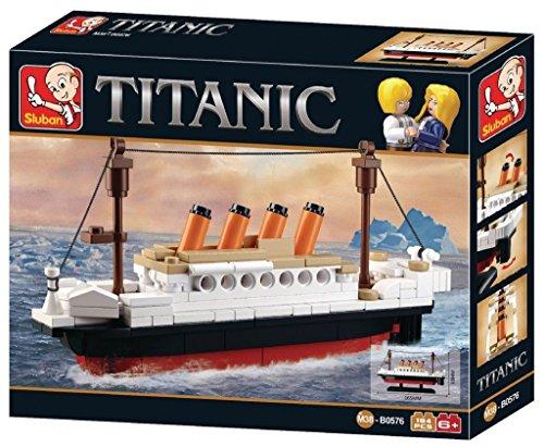 Sluban SlubanM38-B0576 Titanic Building Bricks Set (Small)