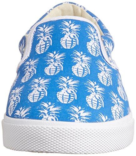Bucketfeet Pineappleade Navy Slip On Canvas Wns 6