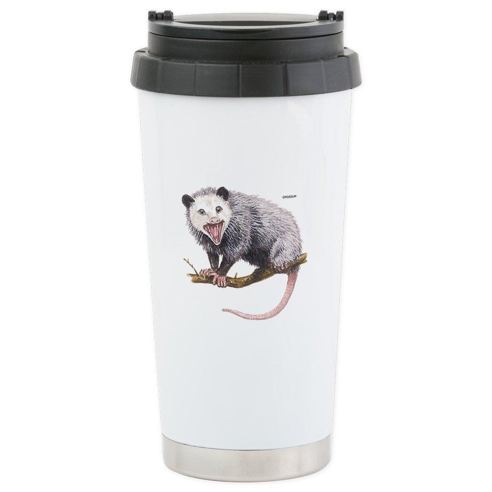 CafePress - Opossum Possum Animal - Stainless Steel Travel Mug, Insulated 16 oz. Coffee Tumbler