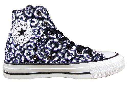 mixte mode Baskets Ctas Cheetah Nightshade Hi adulte Converse Black w7xzz