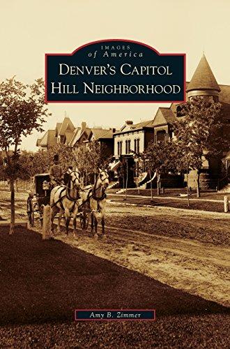 Denver's Capitol Hill Neighborhood (State Denver Co Capitol)