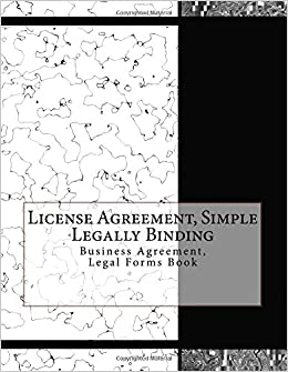 Buy License Agreement Simple Legally Binding Business Agreement - Simple legal forms