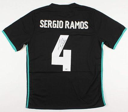 meet 78511 8444d Sergio Ramos Autographed Signed Memorabilia Real Madrid ...