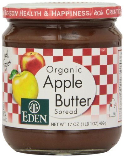 Eden Foods Apple Butter, Og, 17-Ounce (Pack of 3) by Eden