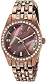 Relic Women's Quartz Stainless Steel and Alloy Casual Watch, Color:Brown (Model: ZR34422)